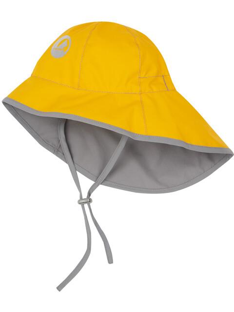 Finkid Tihku Hat Kids yellow/storm